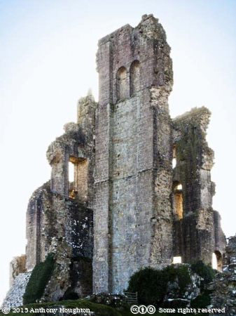 Corfe Castle,Keep,Ruin,National Trust