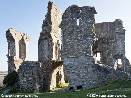 Corfe Castle,Gloriette,Ruin,National Trust
