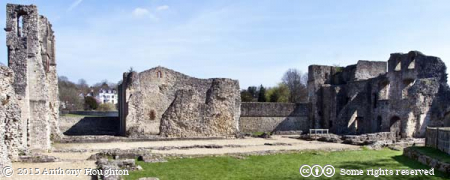 East Range,Wolvesey Castle,Winchester,Old Bishop's Palace,Ruin,English Heritage
