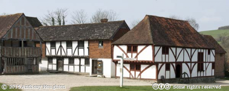 Upper Hall,North Cray House,Weald and Downland Museum,Houses,Singleton