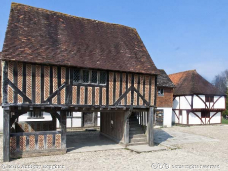 Titchfield Market Hall,Weald and Downland Museum,Houses,Singleton