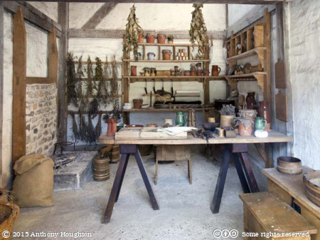 Medieval Shop,Weald and Downland Museum,Singleton