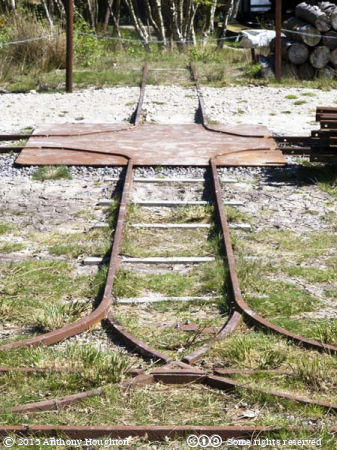 Rails,Norden,Purbeck Mineral and Mining Museum
