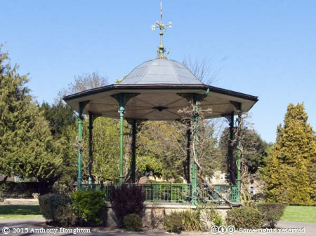 Band Stand,Pageant Gardens,Sherborne