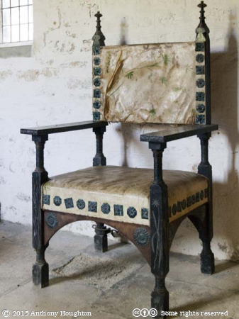 Chair,Bothenhampton Church,Bridport,Churches Conservation Trust