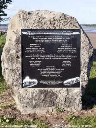 Severn Railway Bridge Disaster Memorial,Lydney Harbour
