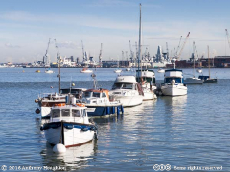 Portsmouth,Harbour,Boats