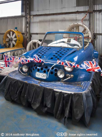 Blue-Mini,Hovercraft Museum,Lee-on-the-Solent