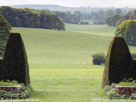 Bastion View,Hinton Ampner,Garden,National Trust