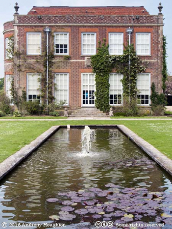 East Front,Hinton Ampner,Stately Home,House,National Trust