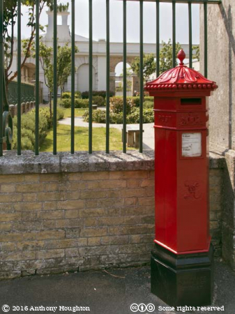 Penfold Postbox,Gosport Station,Disused Railway