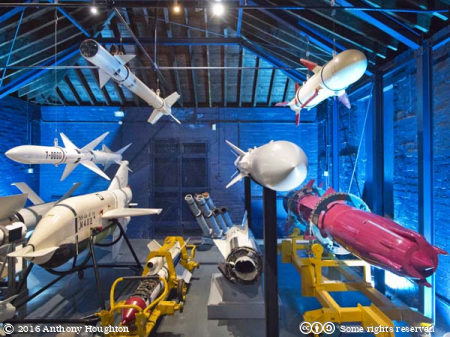 Missiles,Explosion - Museum of Naval Firepower,Gosport