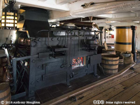 Galley,HMS Victory,Portsmouth Historic Dockyard