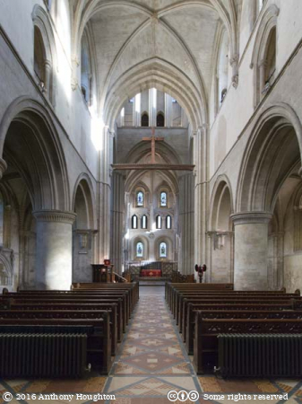 Nave,Hospital of St Cross,Winchester