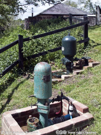 Ram Pumps,Coultershaw Heritage Site
