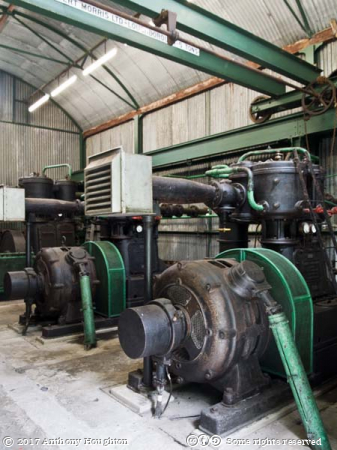 Compressors,Dolaucoth Gold Mines