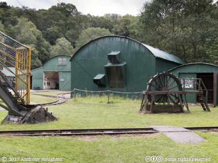 Winding House,Dolaucoth Gold Mines
