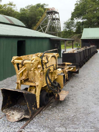 Train,Dolaucoth Gold Mines