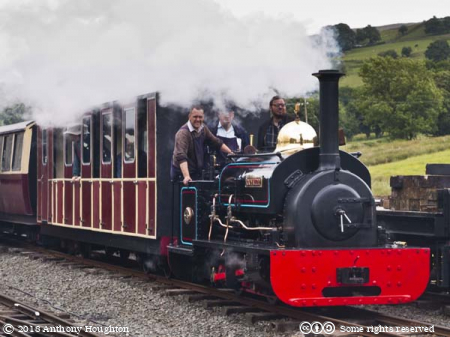 Gwynedd Steam Engine,Train,Bala Lake Railway
