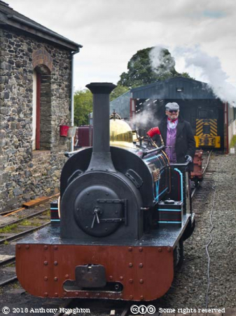 Winifred,Steam Engine,Llanuwchllyn Station,Bala Lake Railway