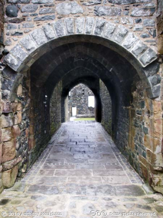 Gatehouse,Passage,Harlech Castle