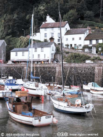 Lynmouth,Boats,Buildings