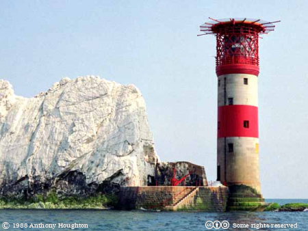 Isle of Wight,Needles Lighthouse