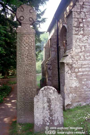 Nevern Church,Celtic Cross