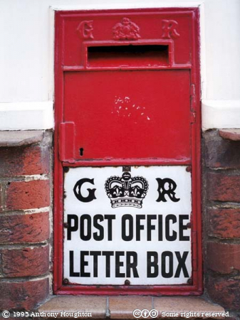 Cranborne,Post Box,Postbox