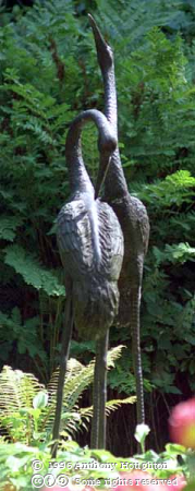 Larmer Tree Gardens,Sculpture