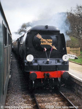 Swanage Railway,Heritage,Steam Engine,Locomotive,Train,Battle of Britain,West Country,34072 257 Squadron,Purbeck
