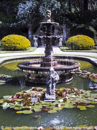 Grand Italian Garden,Poole,Compton Acres Gardens,Fountain