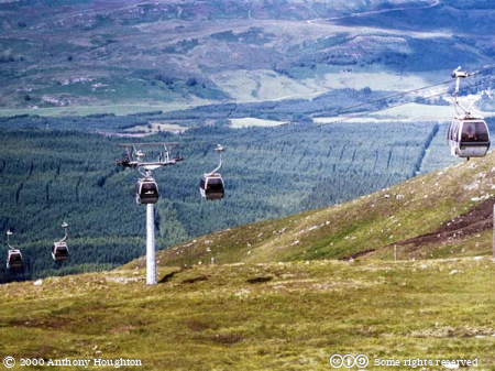 Fort William,Nevis Range,Cable Car,Cablecar,Gondolas,Cableway