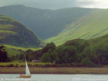 Fort William,Loch Linnhe,Boats,Mountains