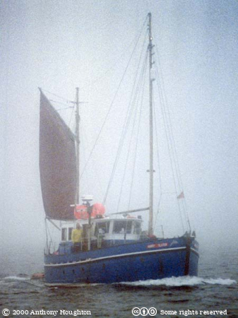 Fishing Boat,Fog