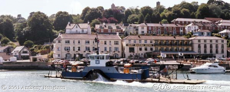 Dartmouth,Ferry,Boats,Buildings,River