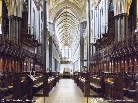 Quire,Choir,Nave,Salisbury Cathedral