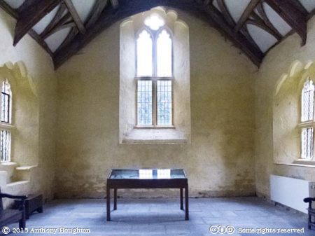 Great Hall,Treasurer's House,Martock,National Trust