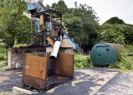 Working Mine Machinery,Hopewell  Colliery,Coleford,Royal Forest of Dean,Coal Mine
